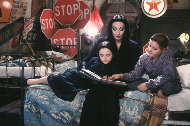 La Famille Addams : Photo Anjelica Huston, Christina Ricci, Jimmy Workman