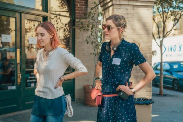 Lady Bird : Photo Greta Gerwig, Saoirse Ronan